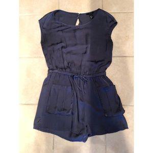 H&M Royal Blue Romper Size 8